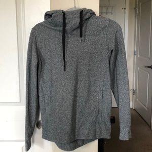 Lululemon grey cowl neck hoodie